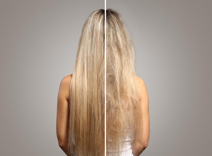 pevné vlasy