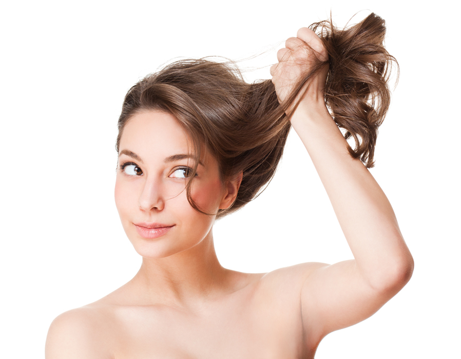 silné a lesklé vlasy