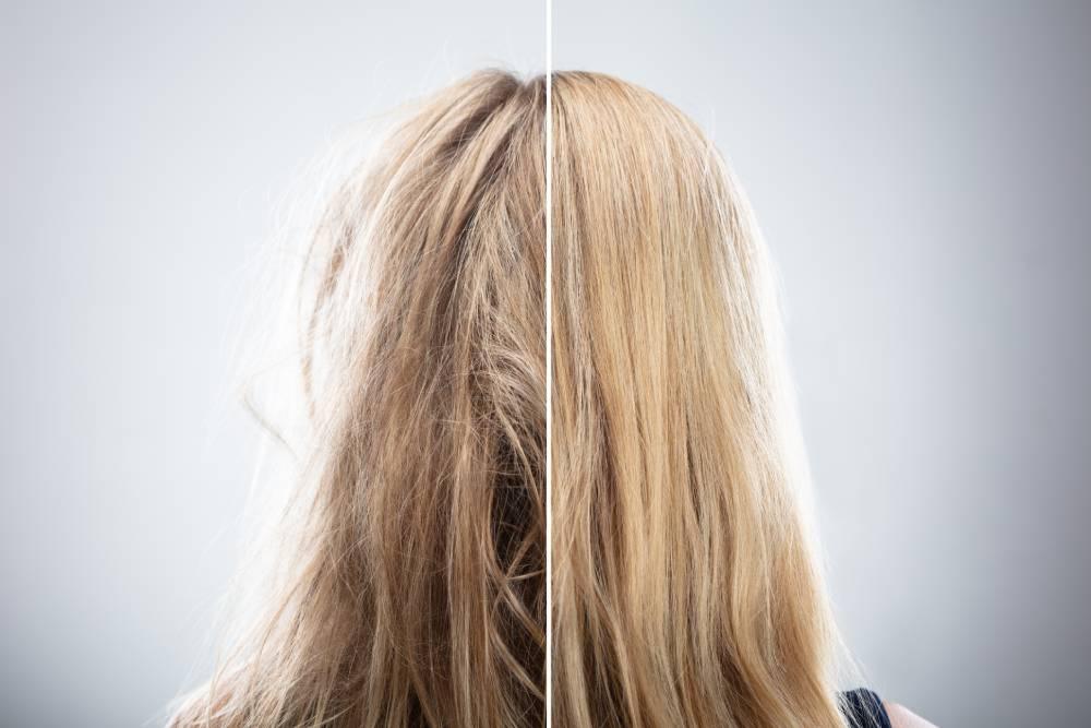 co na zničené vlasy